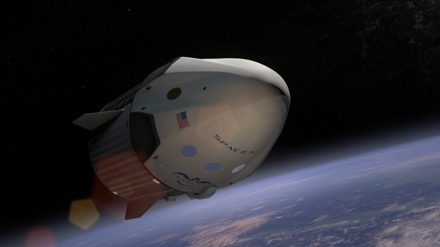 SpaceX-Dragon2 module